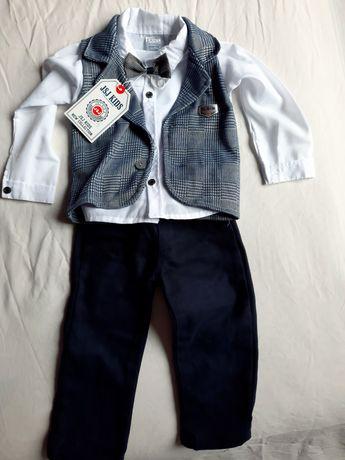 Страхотен Официален костюм за момче 2г. / 92см.