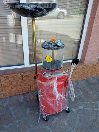 Пневматична помпа за източване на масло 80 литра