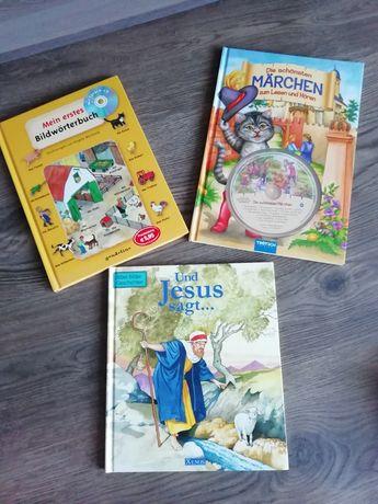 Cărți pentru copii în lb. Germană cu CD, 40 RON toate trei.