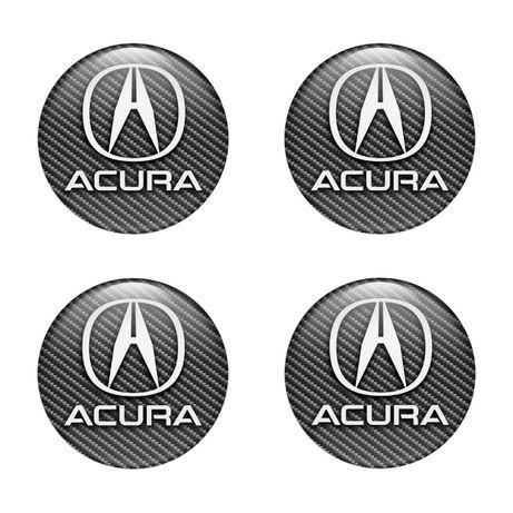 Силиконови стикери за капачки на джанти Хонда Акура размери 40мм до 90