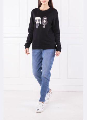 Намалени-Оригинални дънки и блуза Karl Lagerfeld