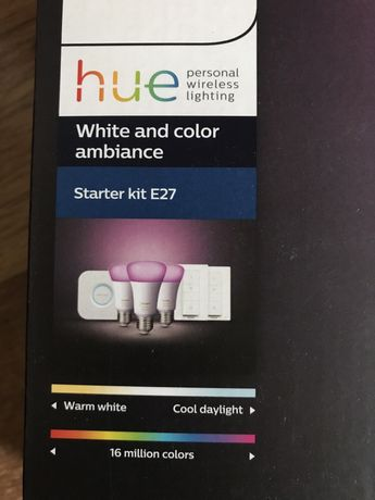 Philips Hue Starter kit E27