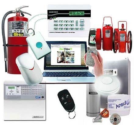 Все виды противо Пожарной системы охранной сигнализации