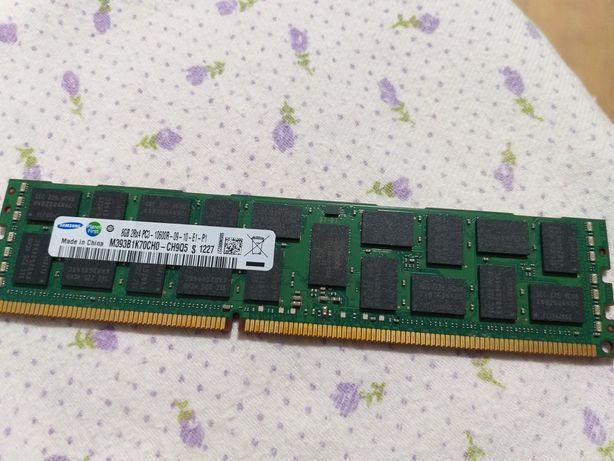 Memorie ram server ecc samsung 8gb 2Rx4 pc3-10600R-09-10-E1-P1