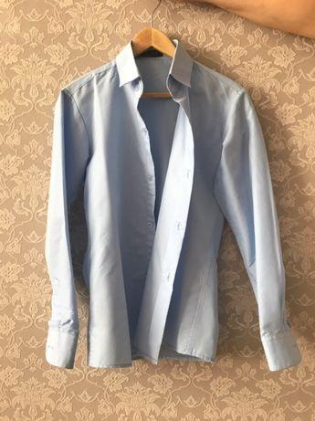 Продам рубашки белые, голубые по 2000 тг.