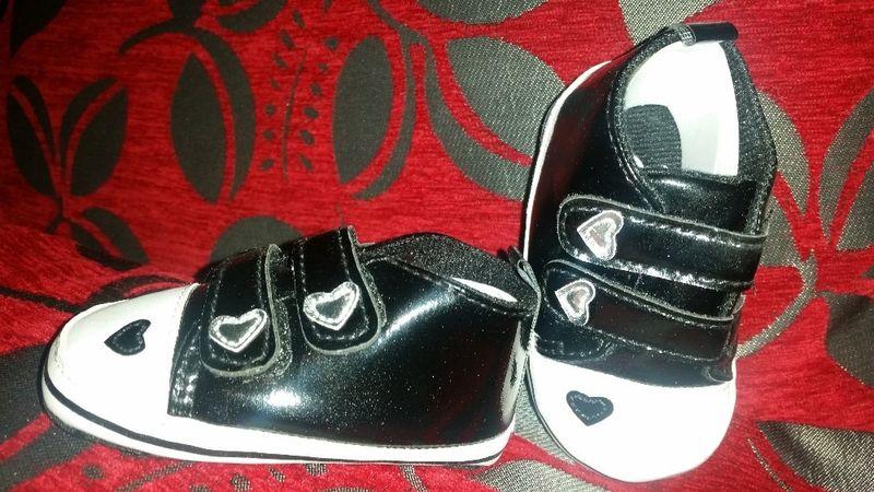 ПРОМО ЦЕНА!Сладки Бебешки обувки за момиче 0-6; 7-12месеца(11-12-13см. гр. Бургас - image 1