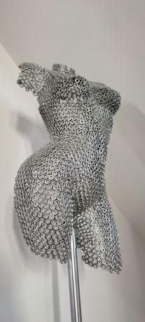 Arta metal - statueta bust feminin