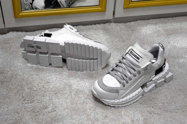 Dolce & Gabbana Super King Piele Naturala Adidasi