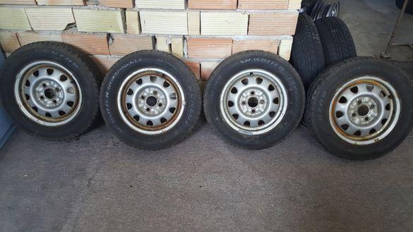 Джанти за шкода 4х98 с гуми 165 70 13