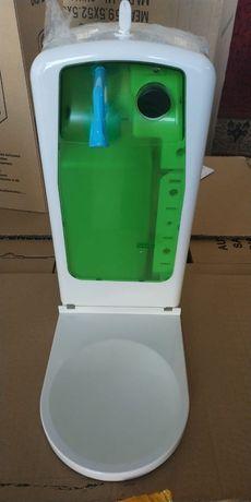 Сенсорный дозатор для антисептика и мыла отличного качества!  -Ёмкость