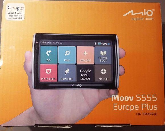 GPS Mio Moov S555 + Harta Europei mio moov s555