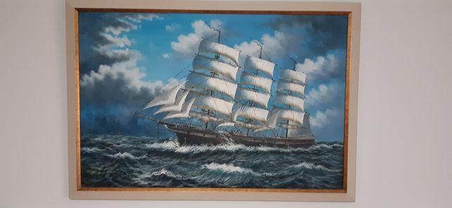 Tablou/pictura corabii pe mare