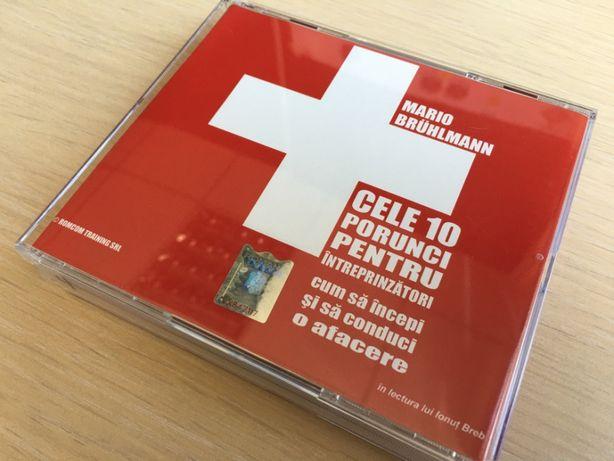 Cele 10 porunci pentru întreprinzători - Carte Audio (set 4 CD-uri)