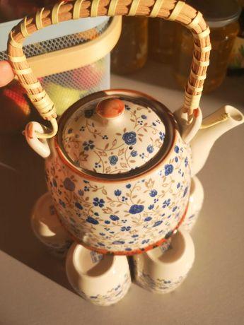 Set ceai- ceainic și cescute