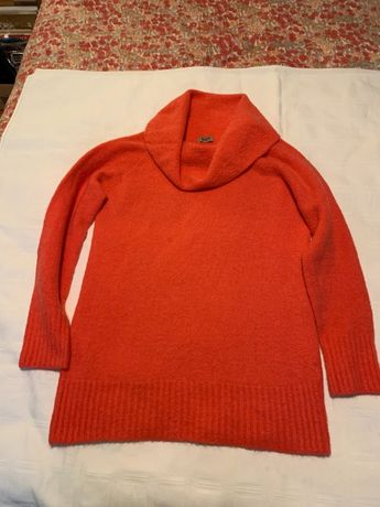 Vind pulover dama culoare portocalie,marimea M-L