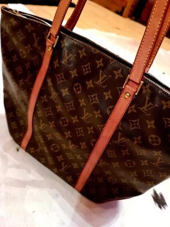Louis Vuitton Vintage-canvas&leather