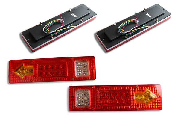 Комплект Диодни LED стопове 12V Бус/Камион/Ремарке/Каравана