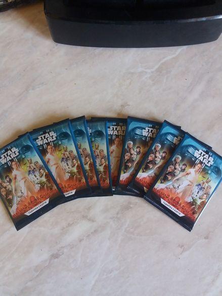 Стикери-карти Star wars 0.50 ст