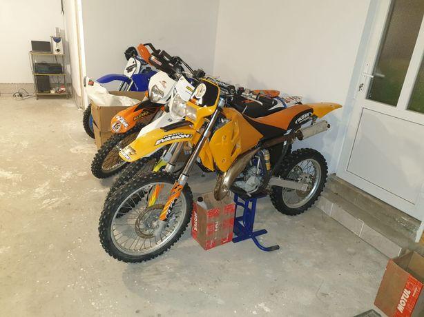 KTM exc, 125 cm³
