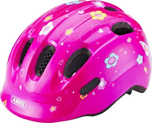 Каска ABUS Smiley 2.0 pink butterfly