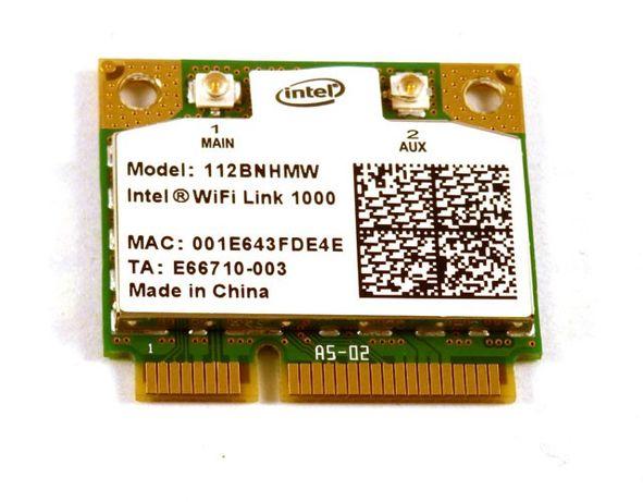 Intel WIFI Link 1000 112BNHMW Wireless Mini Card 802.11 B/G/N