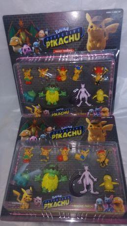 Комплект 9бр. Покемони Pokemon Pikachu Пикачу покемон detective