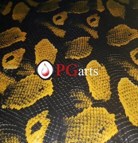 Фолио за хидрографика Snake gold boa 50