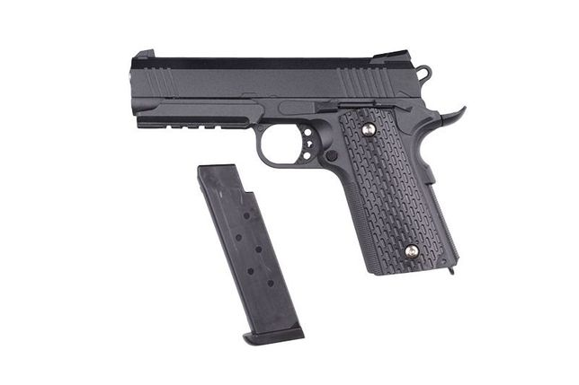 FOARTE PUTERNIC!! Pistol *Modificat* Manual FullMETAL Airsoft(Arc)FIER