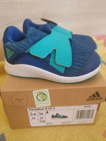 Детски маратонки Adidas FortaRun X CF I