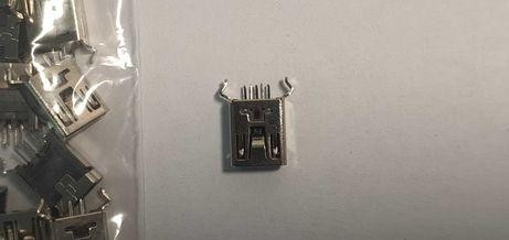 Mufa micro USB mama pentru plantare pe PCB,10 bucati.