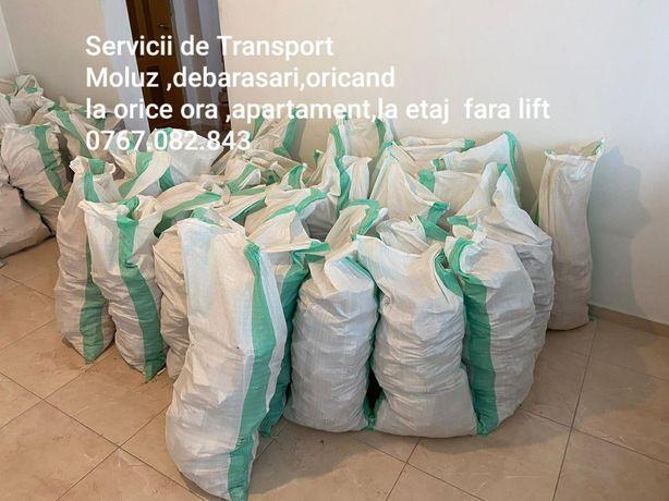 Transport moloz/ moluz/debarasez /transport marfa /mobila / orice