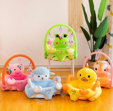Fotoliu plus pentru bebelusi cu bara de activitati,diverse modele