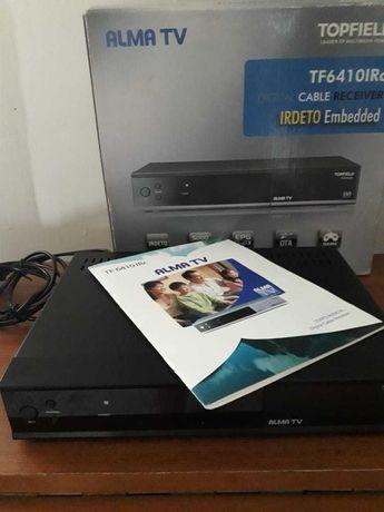 Продам ТВ приставку для подключения  каналов Алма ТВ