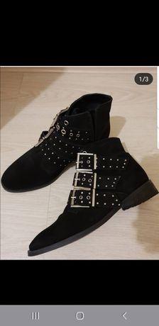 Topshop замша женские ботинки