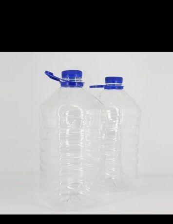 Sticle Peturi plastic 5 si 6 L nou