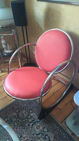 дизайнерски люлеещ стол / като нов/