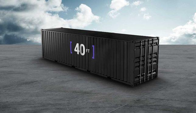 Контейнер 40 тонник морской, высокий