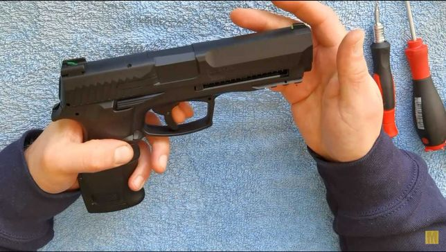 Pistol Airsoft Auto-Aparare/Hdp50 UPGRADE REAL20jouli/Co2 Cal.50