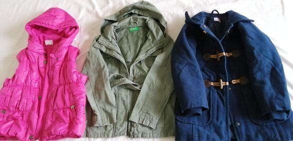 Запазени,качествени дрехи за момиченце,без петна,скъсано 4-6 г.