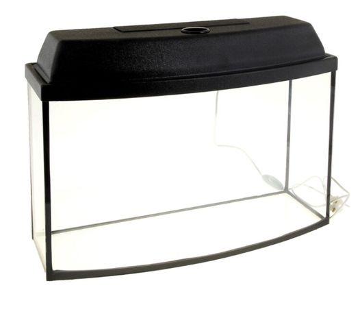 Заводские аквариумы, вид телевизор