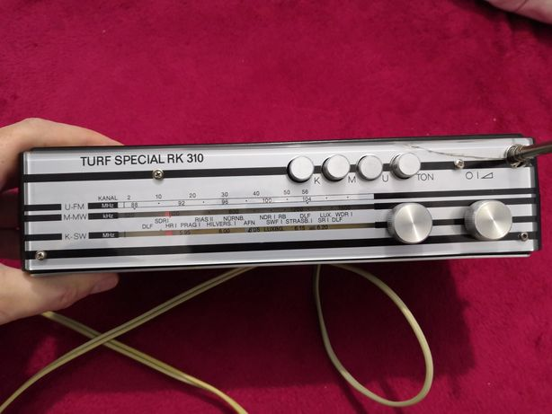 Radio de colectie Turf special RK310