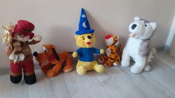Плюшени играчки 5 бр.топ цена.