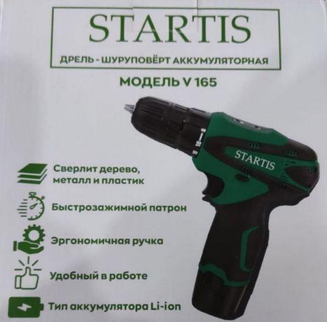Шуруповёрт аккумуляторный Startis