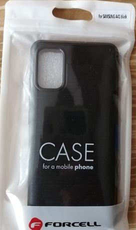 Силиконов гръб черен карбон за Samsung Galaxy A 41 - Нов