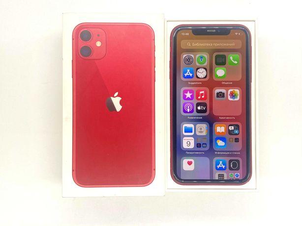 Рассрочка 0% IPhone 11 128gb Product Red