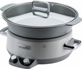 Slow Cooker 6.0L Digital DuraCeramic Sauté Crock-Pot NOUA