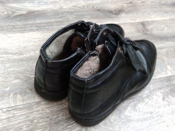 Зимние туфли подростковые