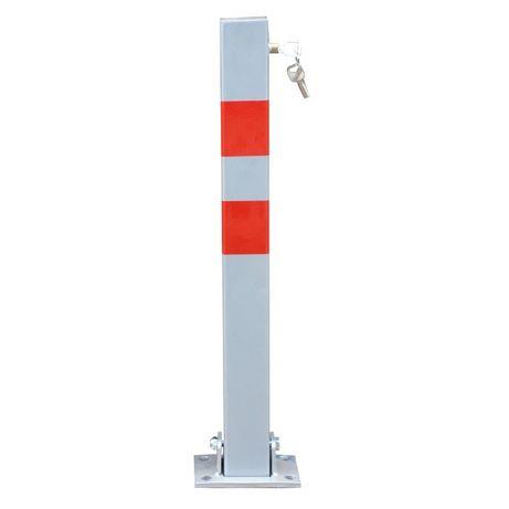 Blocator parcare patrat tip stalp cu 3 chei, 70 cm - EBN0612