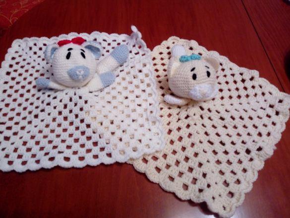 Плетени играчки за гушкане