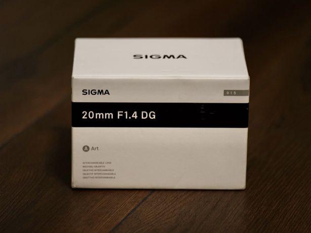 Sigma 20mm F1.4 DG HSM Art - Nikon FX